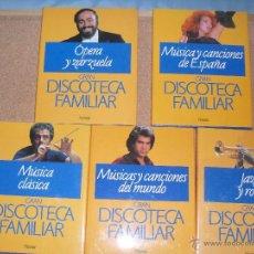 Enciclopedias de segunda mano - GRAN DISCOTECA FAMILIAR 5 TOMOS (completa) - editirorial Planeta 1991 - 163134084