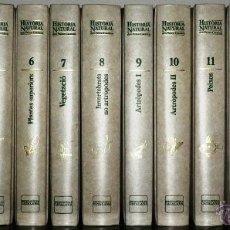 Enciclopedias de segunda mano: HISTÒRIA NATURAL DELS PAÏSOS CATALANS. 16 VOLUMS. Lote 44240762