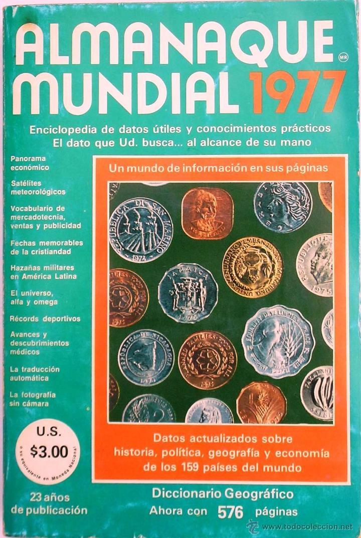 ALMANAQUE MUNDIAL 1977 (Libros de Segunda Mano - Enciclopedias)