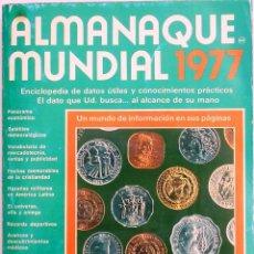 Enciclopedias de segunda mano: ALMANAQUE MUNDIAL 1977. Lote 44241331