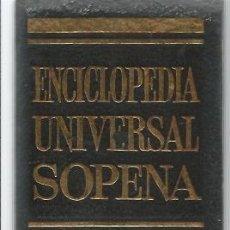 Enciclopedias de segunda mano: == H37 - ENCICLOPEDIA UNIVERSAL SOPENA TOMO Nº 8. Lote 44768725