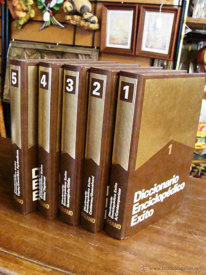 Enciclopedias de segunda mano: DICCIONARIO ENCICLOPÉDICO ÉXITO OCÉANO DE 5 TOMOS EDICIÓN 1990 - Foto 4 - 44861963