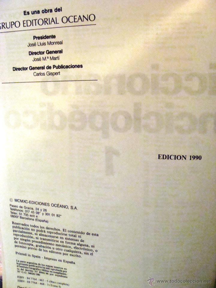 Enciclopedias de segunda mano: DICCIONARIO ENCICLOPÉDICO ÉXITO OCÉANO DE 5 TOMOS EDICIÓN 1990 - Foto 8 - 44861963