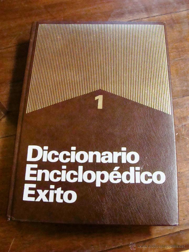 Enciclopedias de segunda mano: DICCIONARIO ENCICLOPÉDICO ÉXITO OCÉANO DE 5 TOMOS EDICIÓN 1990 - Foto 9 - 44861963
