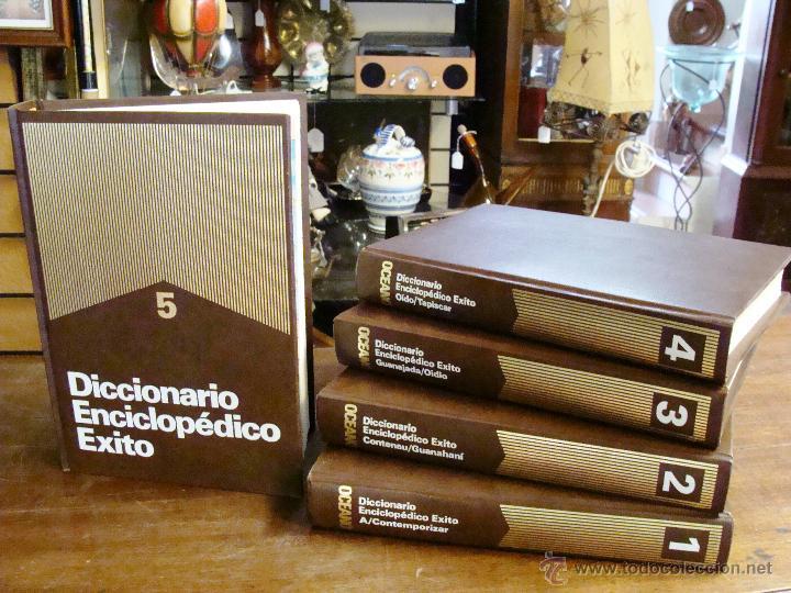 Enciclopedias de segunda mano: DICCIONARIO ENCICLOPÉDICO ÉXITO OCÉANO DE 5 TOMOS EDICIÓN 1990 - Foto 10 - 44861963