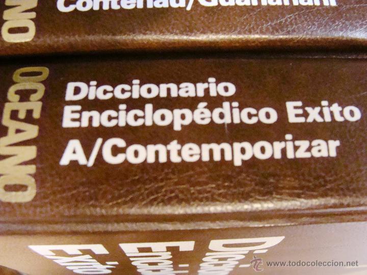 Enciclopedias de segunda mano: DICCIONARIO ENCICLOPÉDICO ÉXITO OCÉANO DE 5 TOMOS EDICIÓN 1990 - Foto 14 - 44861963