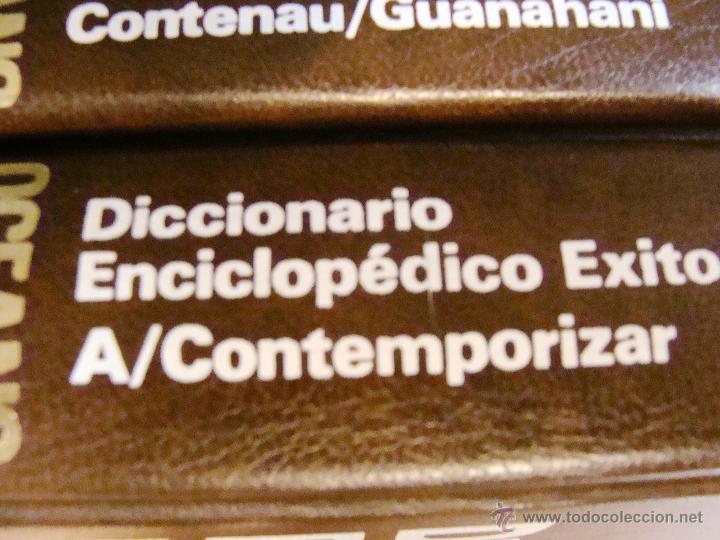 Enciclopedias de segunda mano: DICCIONARIO ENCICLOPÉDICO ÉXITO OCÉANO DE 5 TOMOS EDICIÓN 1990 - Foto 15 - 44861963