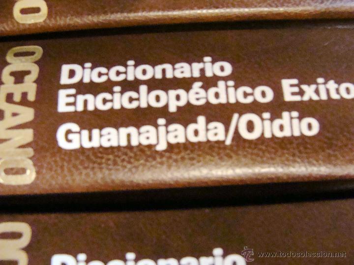 Enciclopedias de segunda mano: DICCIONARIO ENCICLOPÉDICO ÉXITO OCÉANO DE 5 TOMOS EDICIÓN 1990 - Foto 16 - 44861963