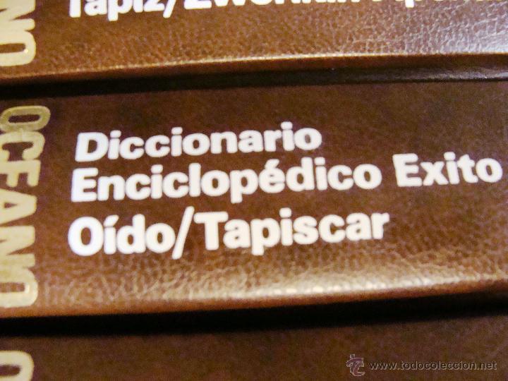 Enciclopedias de segunda mano: DICCIONARIO ENCICLOPÉDICO ÉXITO OCÉANO DE 5 TOMOS EDICIÓN 1990 - Foto 17 - 44861963
