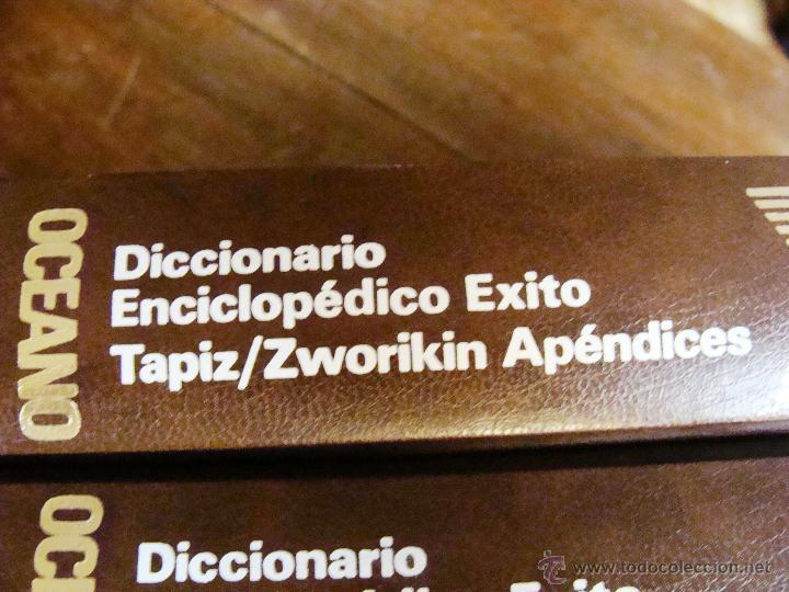 Enciclopedias de segunda mano: DICCIONARIO ENCICLOPÉDICO ÉXITO OCÉANO DE 5 TOMOS EDICIÓN 1990 - Foto 18 - 44861963
