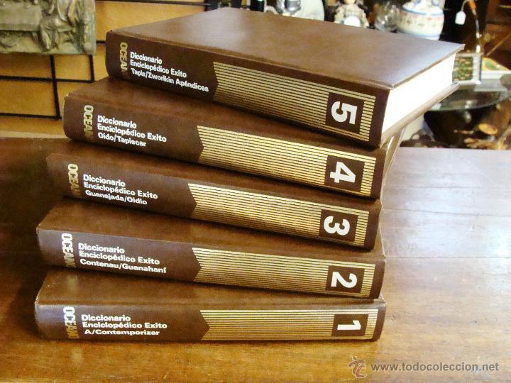 Enciclopedias de segunda mano: DICCIONARIO ENCICLOPÉDICO ÉXITO OCÉANO DE 5 TOMOS EDICIÓN 1990 - Foto 20 - 44861963