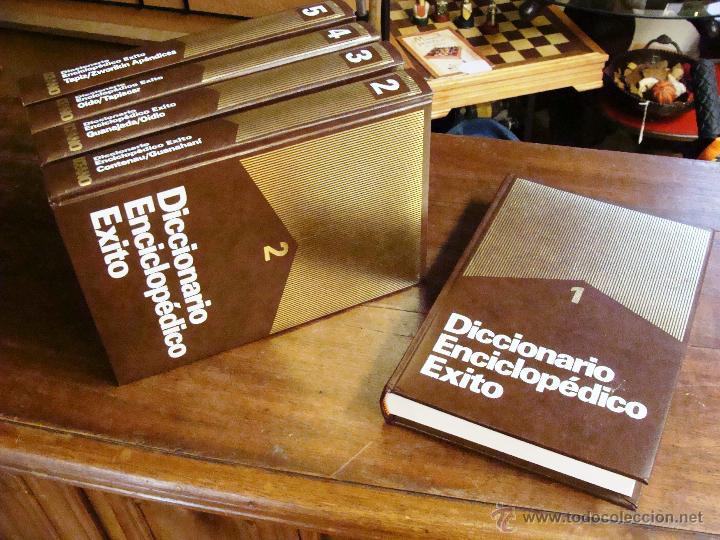 Enciclopedias de segunda mano: DICCIONARIO ENCICLOPÉDICO ÉXITO OCÉANO DE 5 TOMOS EDICIÓN 1990 - Foto 21 - 44861963