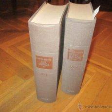 Enciclopedias de segunda mano: MIL LIBROS- LUIS NUEDA TOMOS I (A-L) Y II (M-Z). EDICIONES AGUILAR (1969) 6ª EDICIÓN. Lote 45780651