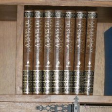 Enciclopedias de segunda mano: A TRAVES DEL ANCHO MUNDO EDITORIAL MARIN 1973 LOTE DE 7 TOMOS. Lote 45815163