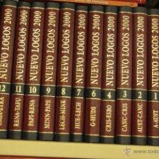 Enciclopedias de segunda mano: ENCICLOPEDIA NUEVO LOGOS 2000. ENCICLOPEDIA ILUSTRADA DEL MUNDO MODERNO.. Lote 46029719