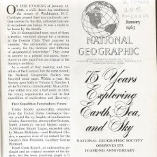 Enciclopedias de segunda mano: VV.AA. THE NATIONAL GEOGRAPHIC MAGAZINE. AÑO 1963. DOS TOMOS. RM67164. . Lote 46328394