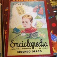 Enciclopedias de segunda mano: ENCICLOPEDIA ALVAREZ FASCIMIL SEGUNDO GRADO. Lote 140786941