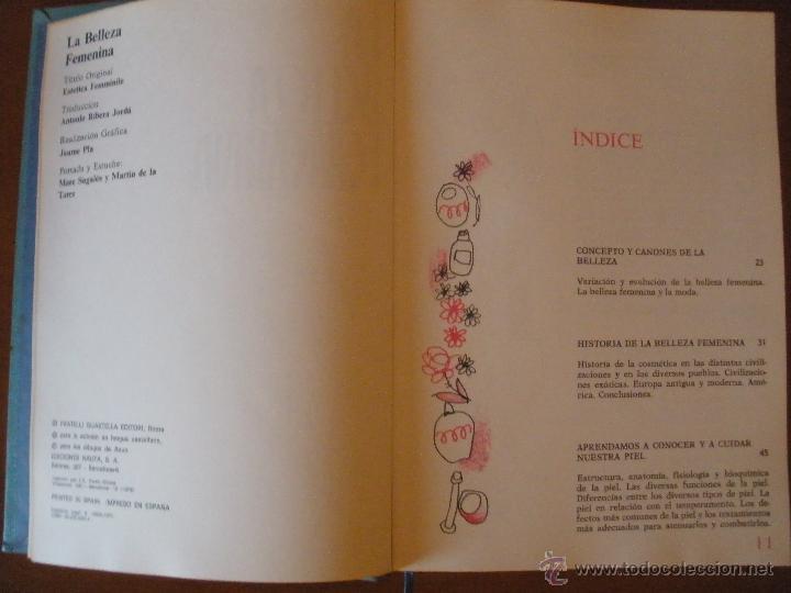 Enciclopedias de segunda mano: LA BELLEZA FEMENINA - ENCICLOPEDIA NAUTA - AÑO 1973 vol 1 - Foto 2 - 46449539