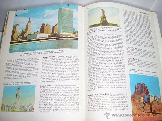 Enciclopedias de segunda mano: ENCICLOPEDIA COMPLETA COLECCIÓN CULTURA - EDITORIAL BRUGUERA - MUY BUEN ESTADO TAPA DURA - Foto 2 - 46654796
