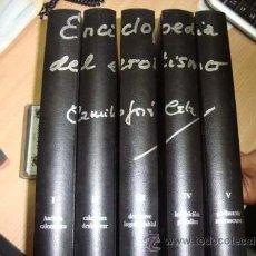 Enciclopedias de segunda mano: ENCICLOPEDIA DEL EROTISMO. CELA.. Lote 47340543