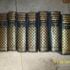 Enciclopedias de segunda mano: DICCIONARIO ENCICLOPEDICO ABREVIADO ESPASA CALPE 1957 8 TOMOS. Lote 47888917