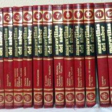 Enciclopedias de segunda mano: MARAVILLAS DEL SABER - 12 TOMOS COMPLETA - CREDSA 1980 - 3584 PÁGINAS - VER INDICES. Lote 48647293