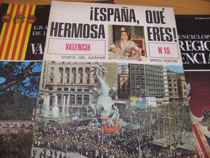Enciclopedias de segunda mano: Gran enciclopedia de la region valenciana 25 fasciculos y prologo - Foto 2 - 48923692