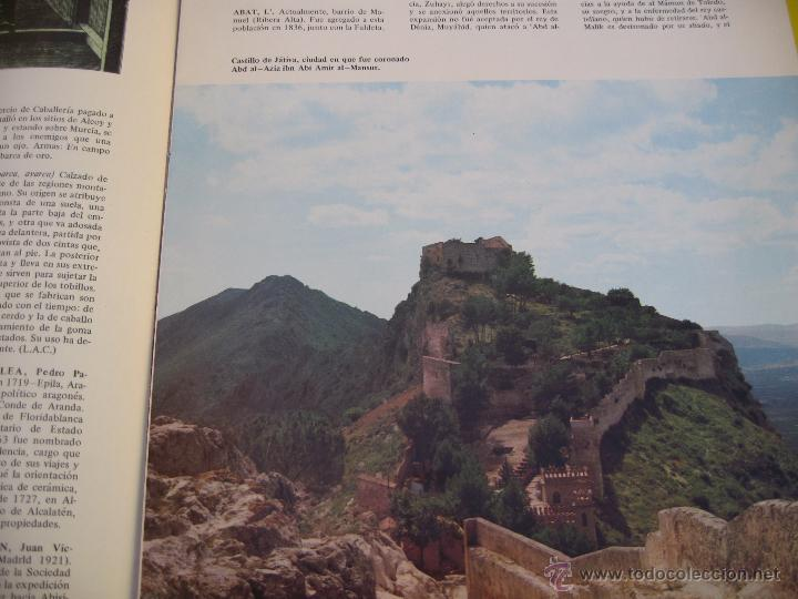 Enciclopedias de segunda mano: Gran enciclopedia de la region valenciana 25 fasciculos y prologo - Foto 3 - 48923692