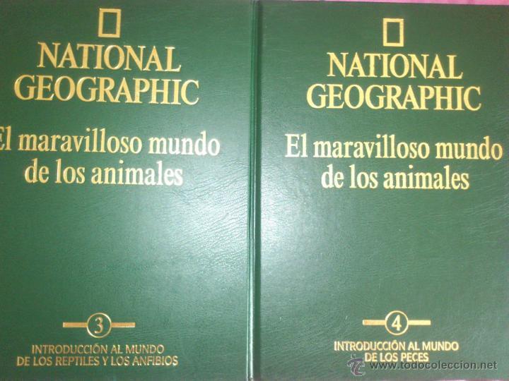 NACIONAL GEOGRAPHIC EL MARAVILLOSO MUNDO DE LOS ANIMALES SIN ABRIR (Libros de Segunda Mano - Enciclopedias)
