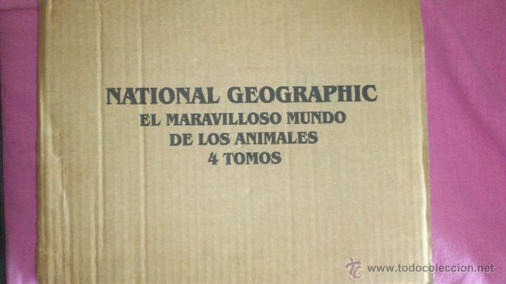 Enciclopedias de segunda mano: NACIONAL GEOGRAPHIC EL MARAVILLOSO MUNDO DE LOS ANIMALES SIN ABRIR - Foto 3 - 49291914
