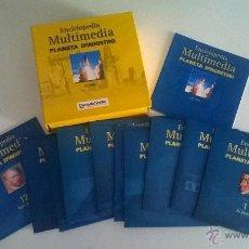 Enciclopedias de segunda mano: ENCICLOPEDIA MULTIMEDIA, CD-ROM, PLANETA DEAGOSTINI, DIARIO DE SEVILLA. Lote 49478515
