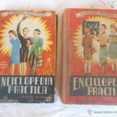 Enciclopedias de segunda mano: ENCICLOPEDIA PRÁCTICA.GRADO ELEMENTAL Y GRADO MEDIO. FERNÁNDEZ. PRIMERA EDICIÓN. SALVATELLA 2 TOMOS.. Lote 49554438