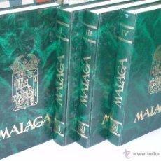 Enciclopedias de segunda mano: ENCICLOPEDIA DE MÁLAGA EN 4 TOMOS VOLÚMENES. EDITORIAL ANDALUCIA. EDICIONES ANEL. AÑO 1984. Lote 49640987
