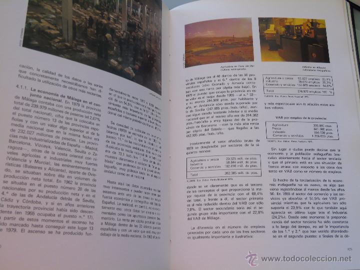 Enciclopedias de segunda mano: ENCICLOPEDIA DE MÁLAGA EN 4 TOMOS VOLÚMENES. EDITORIAL ANDALUCIA. EDICIONES ANEL. AÑO 1984 - Foto 4 - 49640987