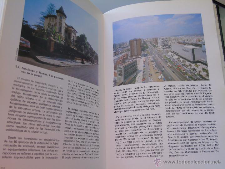 Enciclopedias de segunda mano: ENCICLOPEDIA DE MÁLAGA EN 4 TOMOS VOLÚMENES. EDITORIAL ANDALUCIA. EDICIONES ANEL. AÑO 1984 - Foto 5 - 49640987