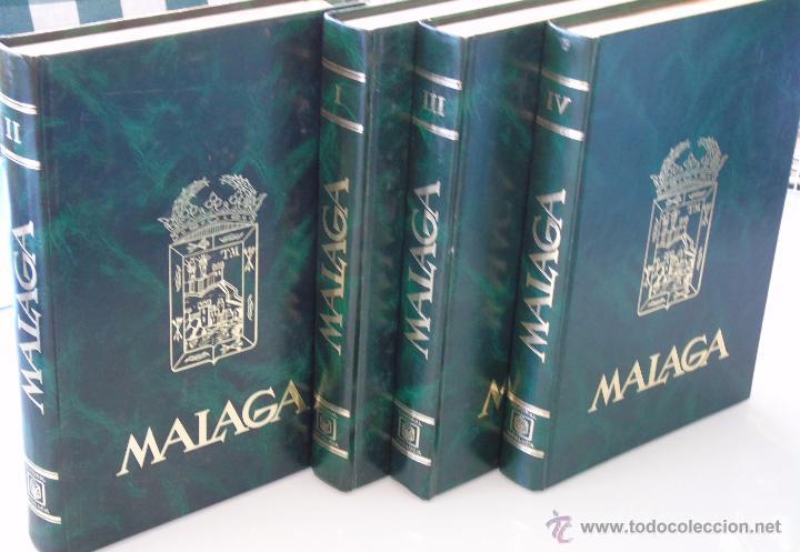 Enciclopedias de segunda mano: ENCICLOPEDIA DE MÁLAGA EN 4 TOMOS VOLÚMENES. EDITORIAL ANDALUCIA. EDICIONES ANEL. AÑO 1984 - Foto 9 - 49640987