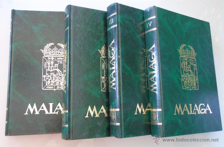 Enciclopedias de segunda mano: ENCICLOPEDIA DE MÁLAGA EN 4 TOMOS VOLÚMENES. EDITORIAL ANDALUCIA. EDICIONES ANEL. AÑO 1984 - Foto 10 - 49640987