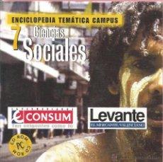 Enciclopedias de segunda mano: ** CD81 - ENCICLOPEDIA TEMÁTICA CAMPUS. CD-ROM Nº 7 - CIENCIAS SOCIALES. Lote 49745246