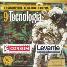 Enciclopedias de segunda mano: ** CD82 - ENCICLOPEDIA TEMÁTICA CAMPUS. CD-ROM Nº 9 - TECNOLOGÍA. Lote 49745256