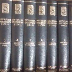 Enciclopedias de segunda mano: DICCIONARIO ENCICLOPÉDICO ESPASA / 20 TOMOS / ESPASA CALPE / 1992. Lote 81913400