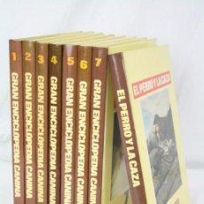 Enciclopedias de segunda mano: 7 + 1 TOMOS / LIBROS - GRAN ENCICLOPEDIA CANINA - ED. BRUGUERA, AÑO 1980. Lote 49869803