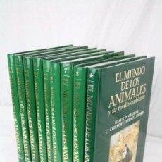 Enciclopedias de segunda mano: 8+1 TOMOS / LIBROS - ENCICLOPEDIA EL MUNDO DE LOS ANIMALES Y SU MEDIO AMBIENTE - PLANETA, 1993. Lote 49872358