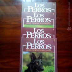 Enciclopedias de segunda mano: LOS PERROS GRAN ENCICLOPEDIA CANINA, NUMEROS, 3,4,5,6, DE PLANETA DE AGOSTINI.. Lote 49898741