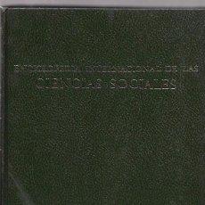 Enciclopedias de segunda mano: ENCICLOPEDIA INTERNACIONAL DE LAS CIENCIAS SOCIALES. VOL. 4. EDIT. AGUILAR. 1968.. Lote 49922392