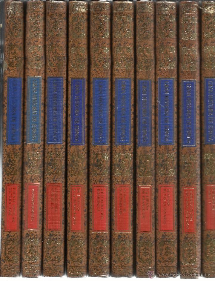 HISTORIA DE ESPAÑA. 25 TOMOS. CLUB INTERNACIONAL DEL LIBRO. MADRID. 1986 (Libros de Segunda Mano - Enciclopedias)
