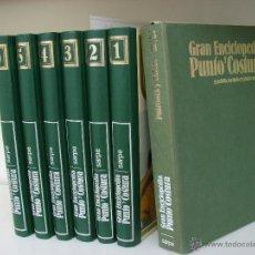 Enciclopedias de segunda mano: GRAN ENCICLOPEDIA PUNTO Y COSTURA. 6 TOMOS MAS OTRO DE PATRONES. AÑOS 70. Lote 51062153