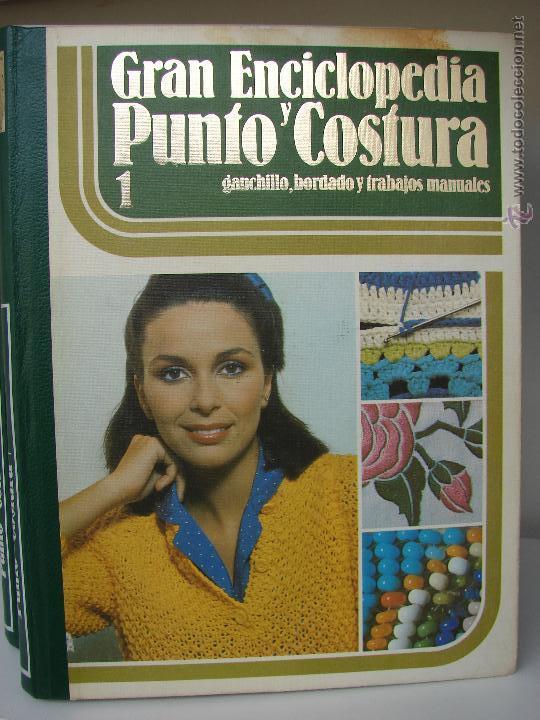 Enciclopedias de segunda mano: GRAN ENCICLOPEDIA PUNTO Y COSTURA. 6 TOMOS MAS OTRO DE PATRONES. AÑOS 70 - Foto 2 - 51062153