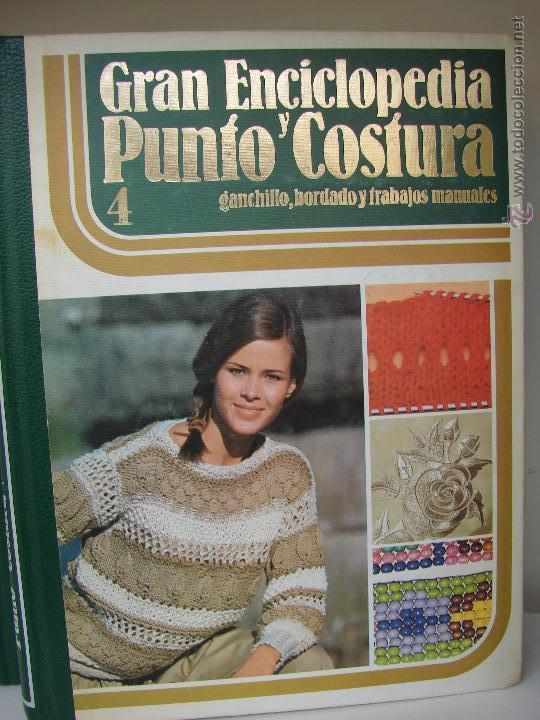 Enciclopedias de segunda mano: GRAN ENCICLOPEDIA PUNTO Y COSTURA. 6 TOMOS MAS OTRO DE PATRONES. AÑOS 70 - Foto 5 - 51062153