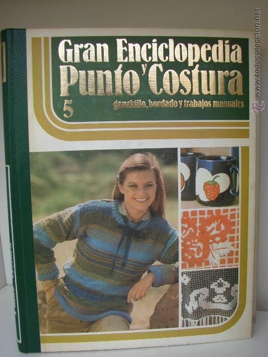 Enciclopedias de segunda mano: GRAN ENCICLOPEDIA PUNTO Y COSTURA. 6 TOMOS MAS OTRO DE PATRONES. AÑOS 70 - Foto 6 - 51062153