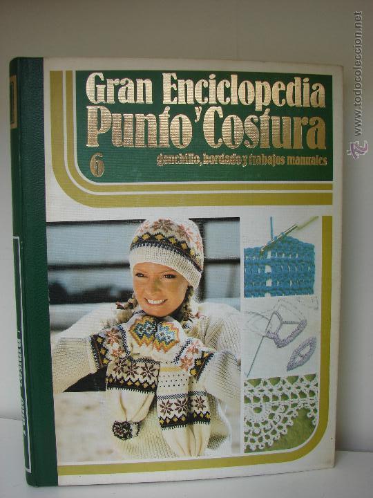Enciclopedias de segunda mano: GRAN ENCICLOPEDIA PUNTO Y COSTURA. 6 TOMOS MAS OTRO DE PATRONES. AÑOS 70 - Foto 7 - 51062153